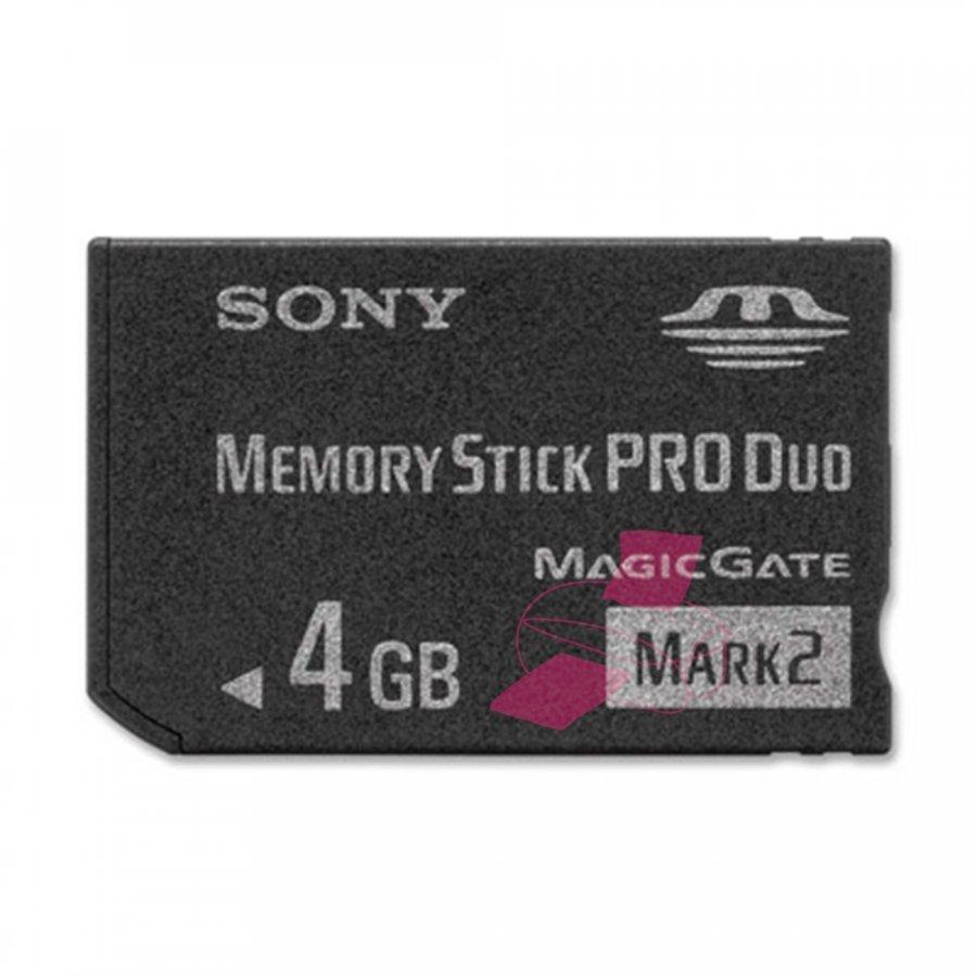 Sony MSMT4G Memory Stick Pro Duo Muistikortti 4gb