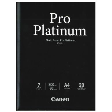 Valokuvapaperi Pro Platinum A4 20 Arkkia 300g PT-101
